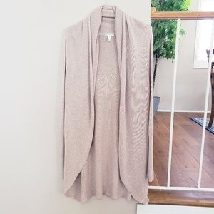 LEITH Beige Long Cozy Cardigan Size Small